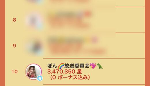 ライバージャパン所属「ぽん🌈放送委員会💖🦖」がイチナナイベント「おひつじ座」で入賞