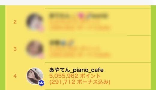 ライバージャパン所属「あやてん_piano_cafe」がイチナナイベント「新人ライバーの疾風」で入賞