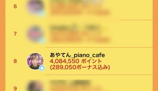 ライバージャパン所属「あやてん_piano_cafe」が17LIVEイベント「集え、Music Liver!」で入賞